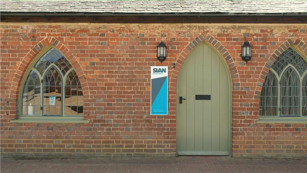 SIAN Head Office Front Door